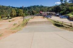 Ущелье Giba следа велосипеда BMX  Стоковые Изображения