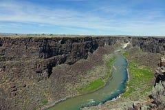Ущелье Malad - Айдахо стоковое фото