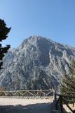 Ущелье Samaria, Крит Стоковая Фотография