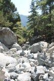 Ущелье Samaria, Крит Стоковые Изображения RF