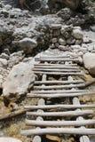 Ущелье Samaria, Крит Стоковое Фото