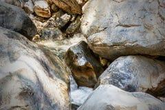 Ущелье Samaria Стоковые Фото