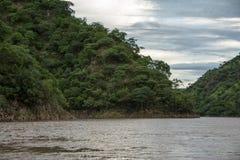 Ущелье Sanyati, озеро Kariba Стоковое Изображение RF