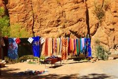 Ущелье Todra в Марокко Стоковое Изображение RF