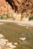 Ущелье Todra в Марокко Стоковое Фото