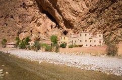 Ущелье Todra в Марокко Стоковая Фотография RF