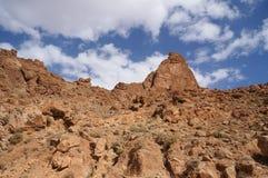 Ущелье Todra в морокканской горе атласа Стоковые Фотографии RF