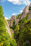 Ущелье Turda в Трансильвании Румынии Стоковые Фото