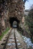 Ущелье Vouraikos, Пелопоннес, Греция Стоковая Фотография