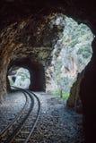 Ущелье Vouraikos, Пелопоннес, Греция Стоковые Фото