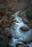 Ущелье Vouraikos, Пелопоннес, Греция Стоковая Фотография RF