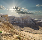 Ущелья плато Shalkar-Nura Стоковое фото RF