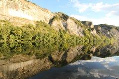 Ущелья Ardeche стоковые фото