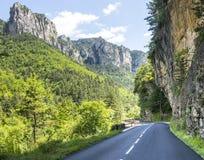 Ущелья du Тарн Стоковое Фото