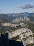 Ущелья du Verdon в Франции Стоковые Изображения RF
