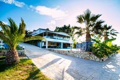 Уютная гостиница зоны Стоковое фото RF