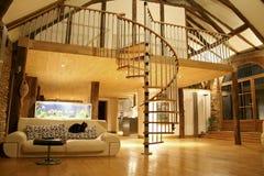 уютная дом Стоковая Фотография