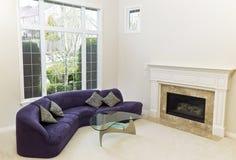 Уютная живущая комната Стоковая Фотография