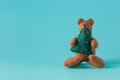 Уютная игрушка медведя Стоковое Изображение