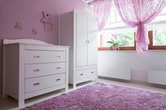 Уютная комната для девушки стоковое фото rf