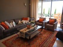 Уютная классическая красивая живущая комната Стоковое Изображение RF