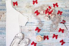Уютное домашнее торжество рождества и Нового Года Стоковые Фотографии RF