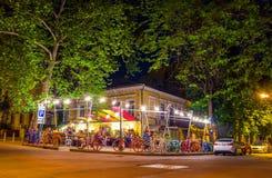 Уютное кафе Стоковая Фотография RF