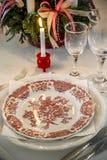 Уютное украшение рождества Стоковое Изображение