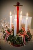 Уютное украшение рождества Стоковое Фото