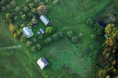 уютные дома Стоковое Изображение RF