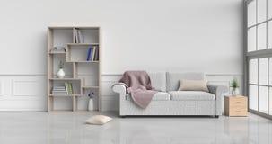 Уютный внутренний дизайн комнаты Стоковое фото RF
