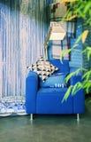Уютный домашний стул Стоковое Фото