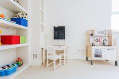 Уютный nook для ребенка стоковое изображение