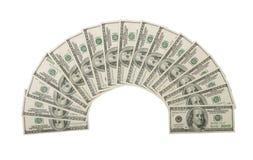 100 дуют долларовых банкнот, который Стоковое фото RF