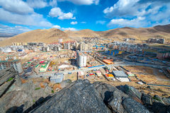 Улан-Батор, Монголия - май 2015: Взгляд Улан-Батора Стоковое фото RF