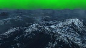 Удар волн шторма сток-видео