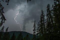 Удар молнии Стоковое Изображение RF