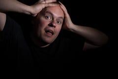 удар человека Стоковое фото RF