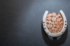 удачливейшие деньги Стоковые Фото