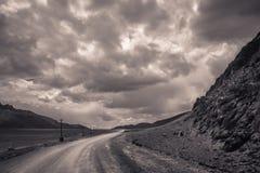Удаленная дорога горы Стоковое фото RF