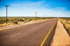 Удаленная дорога стоковая фотография