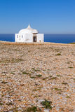 Удаленное Ermida da Memoria (обитель памяти) Nossa Senhora делает святилище Cabo Стоковое фото RF