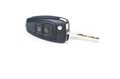 Удаленный ключ автомобиля на белой предпосылке Стоковое Изображение