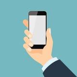 удерживание руки банка предпосылки замечает smartphone бесплатная иллюстрация