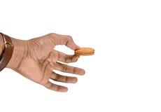 удерживание руки печенья Стоковое Изображение RF