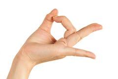 Удерживание руки Стоковые Фотографии RF