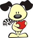 удерживание сердца собаки Стоковые Фотографии RF