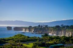 Удивительнейший взгляд накидки Foulwind в Новой Зеландии 14-ого февраля 2012 Стоковые Фото