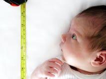 удивленный младенец Стоковое Изображение