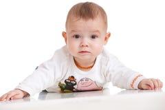удивленный младенец Стоковые Фото